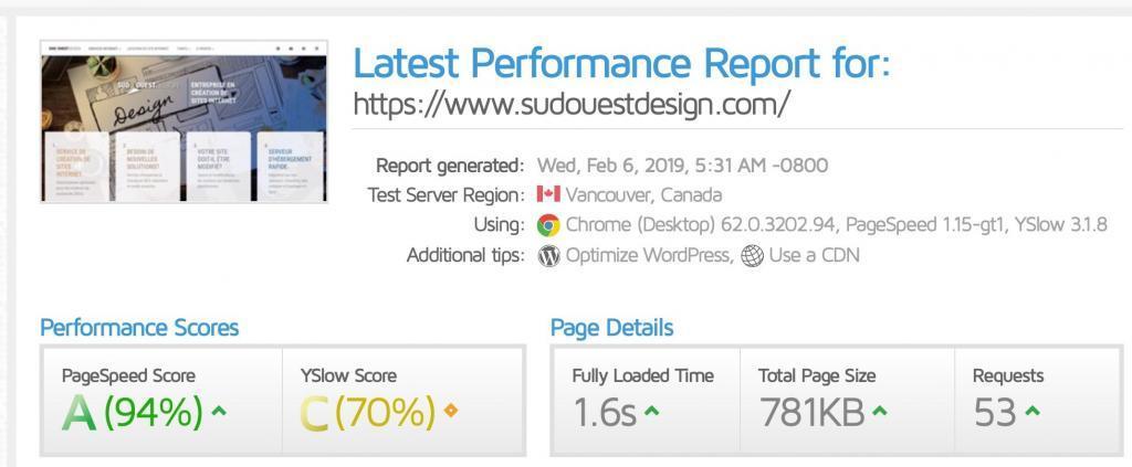 , Est-ce que l'on vous dit la vérité sur les performances de votre site Internet ?, Sud-Ouest Design