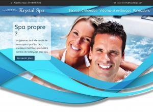 Création de site web - krystalspa