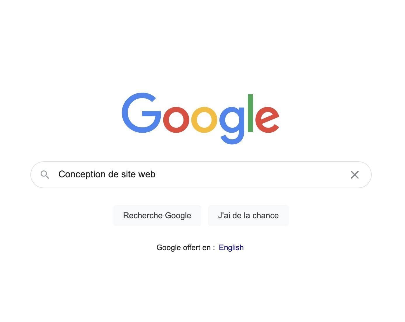 Google, Sud-Ouest Design